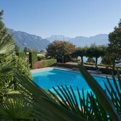 Switzerland, Vaud, Waadt, Montreux, Glion, Hôtel Victoria